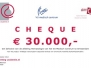 Rosariumbijeenkomst: uitreiking cheques 11-10-2012